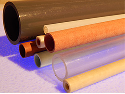 assorted plastic tubes by size