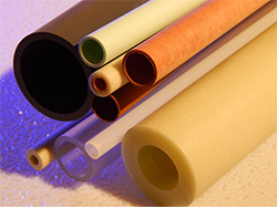 assorted plastic tubes